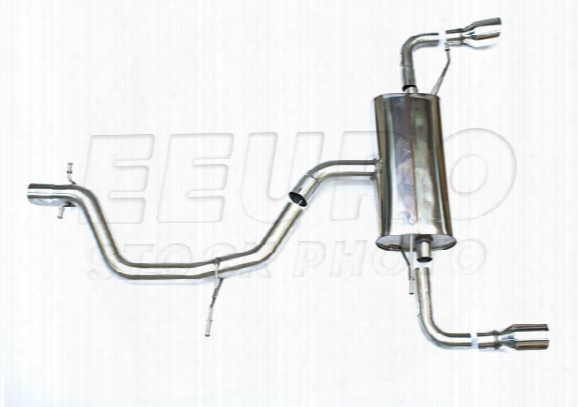 Vw Exhaust System Kit (cat-back) (performance) (2.75in) (non-resonated) (polished 100mm Jet Tips)