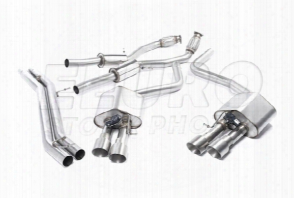 Vw Exhaust System Kit (cat-back) (performance) (resonated) (titanium Tips)