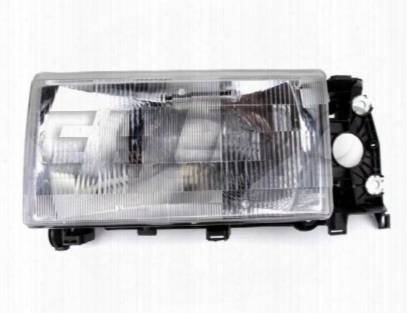 Headlight Assembly - Driver Side (halogen) - Genuine Volvo 1369603
