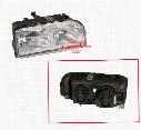 Headlight Assembly - Passenger Side (Halogen) - Genuine Volvo 9159413