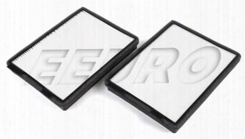 Cabin Air Filter Set - Filtertech 64319069927set Bmw 64312207985