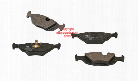 Disc Brake Pad Set - Rear - Febi 16141 Bmw 34211159273