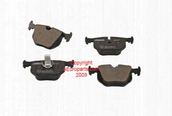 Disc Brake Pad Set - Rear - Jurid 571918j Bmw 34216761250