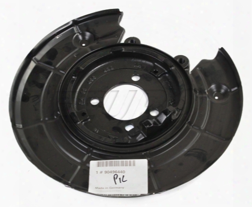 Disc Brake Rotor Backing Plate - Driver Side - Genuine Saab 90496440