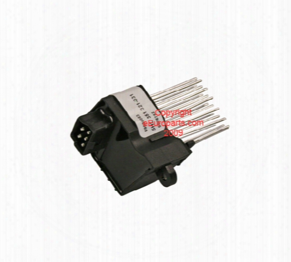 Final Stage Blower Motor Resistor - Behr 351321511 Bmw 64116929540