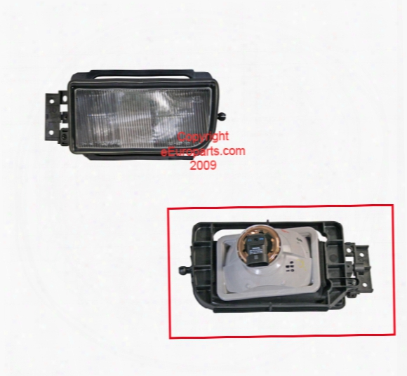 Foglight Assembly - Driver Side - Hella H12226011 Bmw