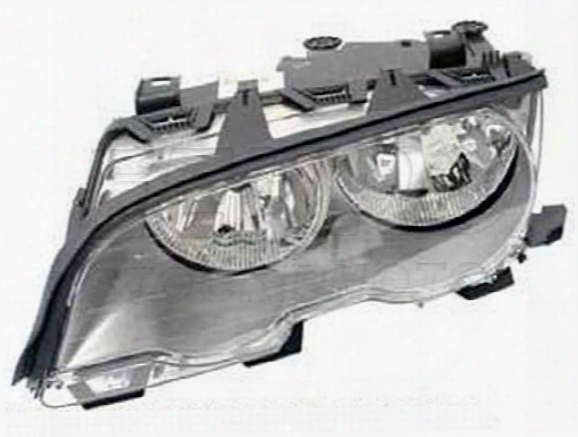 Headlight Assembly - Driver Side (halogen) - Genuine Bmw 63126919645