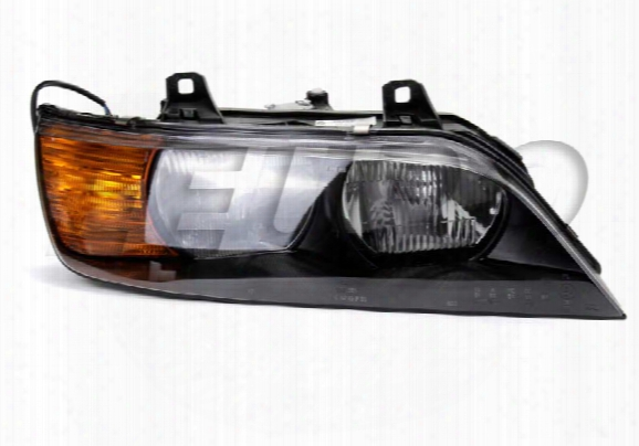Headlight Assembly - Passenger Side (halogen) - Genuine Bmw 63128389518