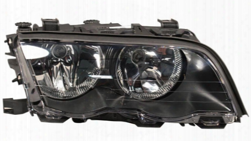Headlight Assembly - Passenger Side (halogen) - Zkw Bmw 63126906496