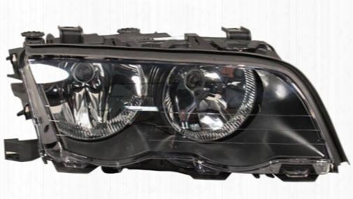 Headlight Assembly - Passenger Side (halogen) - Zkw Bmw 63126906496