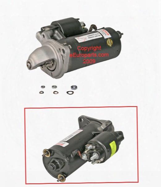 Starter Motor (rebuilt) - Bosch Sr0445x Bmw 12412354709