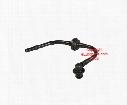 Brake Booster Vacuum Hose (w/ Check Valve) - Genuine SAAB 5057856
