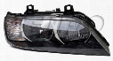 Headlight Assembly - Passenger Side (Halogen) (Clear Turnsignal) 63128386048