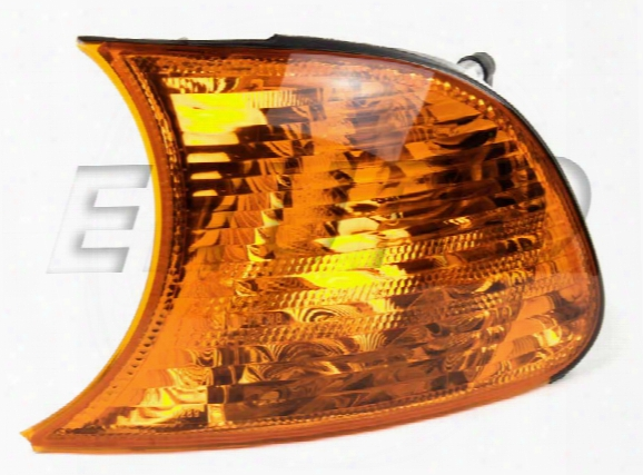 Turnsignal Assembly - Driver Side (amber) - Hella 010242031 Bmw 63136919649