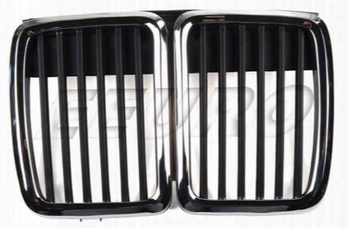 Bumper Cover Grille - Front Center - Ez Ziegler/trucktec 0862237 Bmw 51131884350