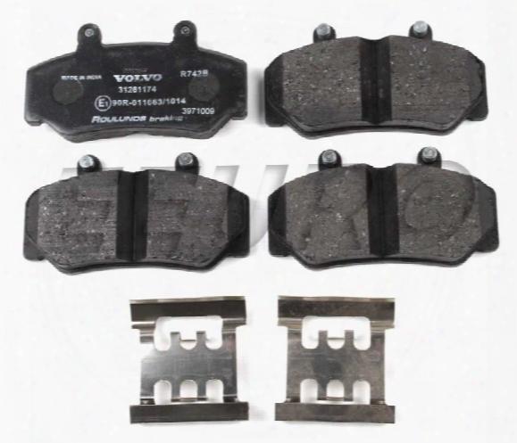 Disc Brake Pad Set - Front - Genuine Volvo 31261181