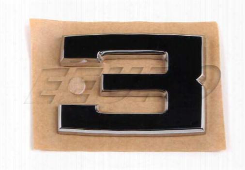Emblem - Rear (3) - Genuine Bmw 51141934619