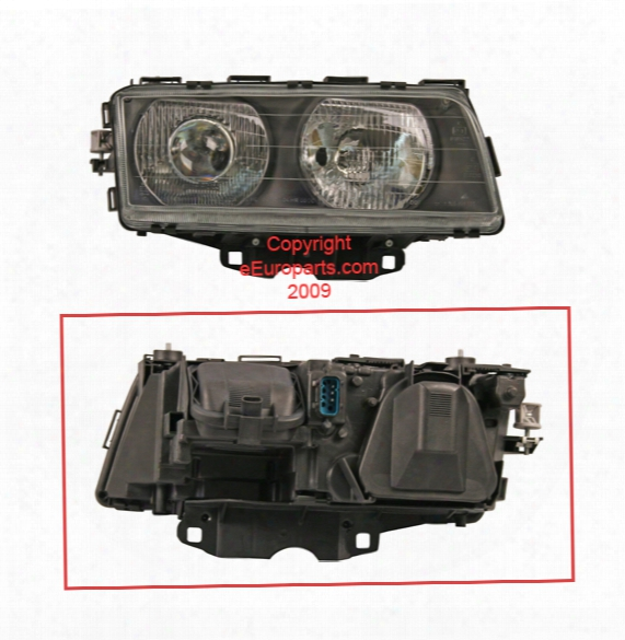 Headlight Assembly - Passenger Side (halogen) - Bosch 0302469002 Bmw 63128352744