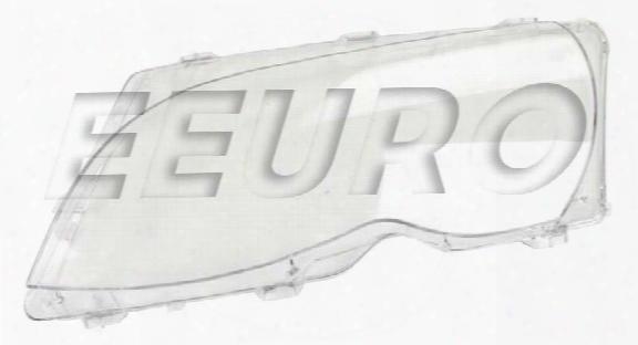 Headlight Lens - Driver Side - Genuine Bmw 63126923411