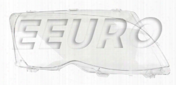 Headlight Lens - Passenger Side - Genuine Bmw 63126923412