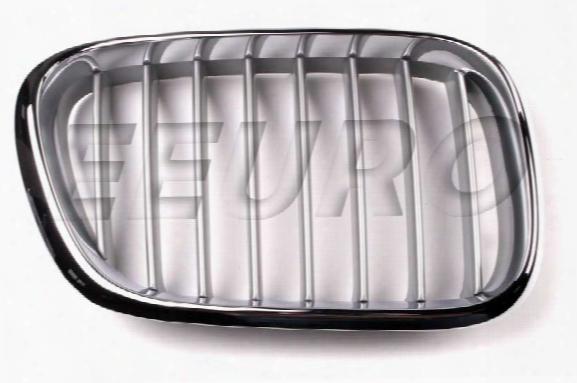 Kidney Grille - Front Passenger Side (titanium) - Genuine Bmw 51138250052