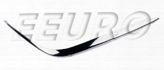 Molding - Front Bumper Strip - Passenger Side (chrome) - Genuine Bmw 51118168106