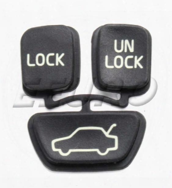 Remote Button Insert Set (w/o Panic Button) - Uro Parts 9166199i Volvo 9166199