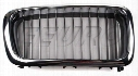 Kidney Grille - Front Passenger Side (Chrome) - Genuine BMW 51138172280