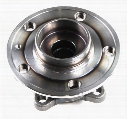 Wheel Bearing and Hub Assembly - Front - FAG 801842D Volvo 31658081