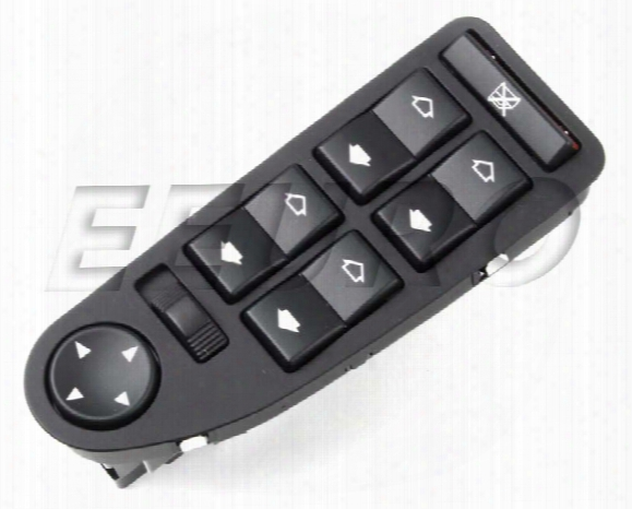 Window Switchpack - Front Driver Side - Genuine Bmw 61319362762