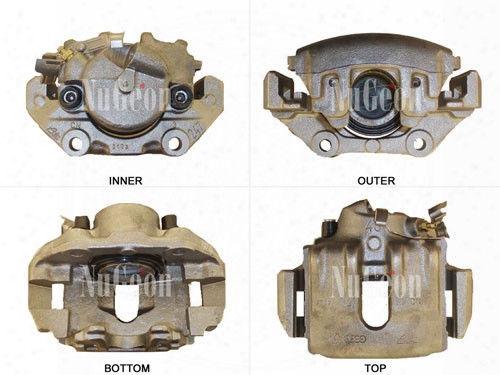Disc Brake Caliper - Front Driver Side - Nugeon 2202130l Bmw