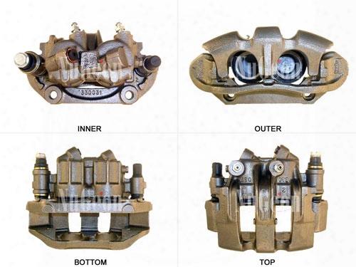 Disc Brake Caliper - Front Driver Side - Nugeon 2209309l Volvo