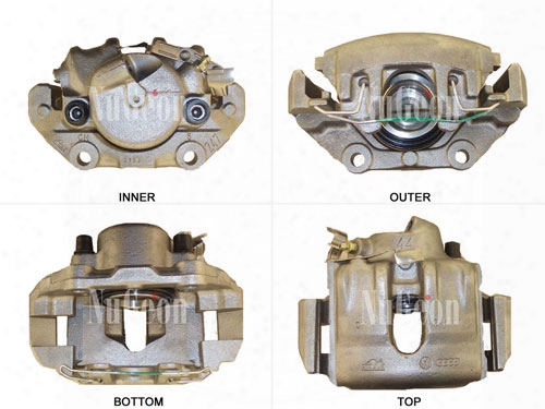 Disc Brake Caliper - Front Passenger Side - Nugeon 2202130r Bmw