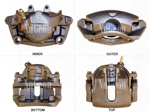 Disc Brake Caliper - Front Passenger Side - Nugeon 2202717r Bmw