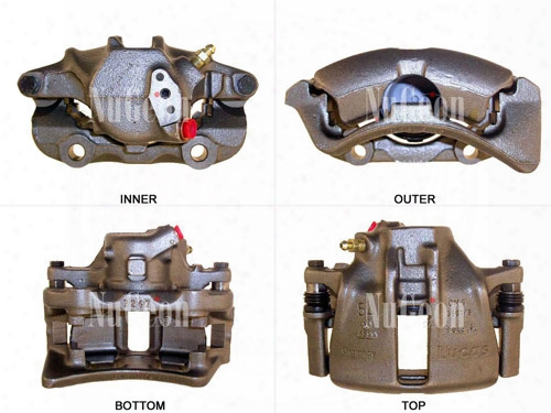 Disc Brake Caliper - Front Passenger Side - Nugeon 2203318r Vw