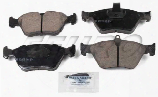 Disc Brake Pad Set - Front - Akebono Eur644 Saab 4646899