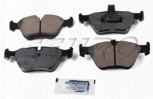 Disc Brake Pad Set - Front - Akebono Eur725 Bmw 34116761279