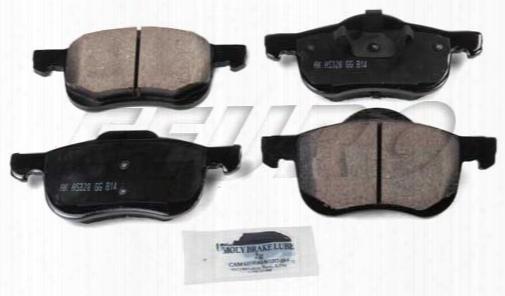Disc Brake Pad Set - Front - Akebono Eur794 Volvo 31262503