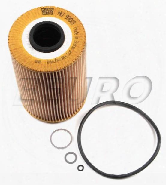 Engine Oil Filter - Mann-filter Hu9303x Bmw 11429063138