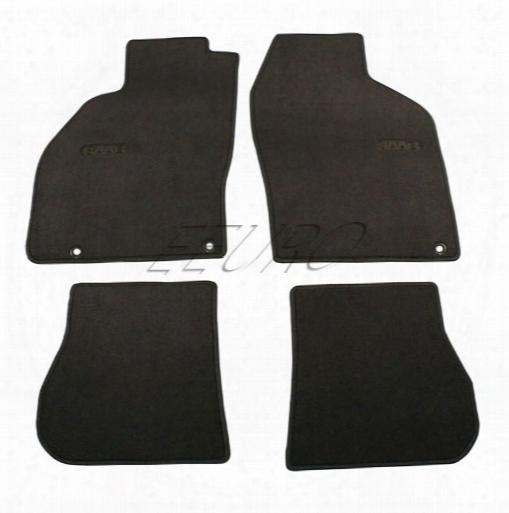 Floor Mat Set (black) - Genuine Saab 32016227