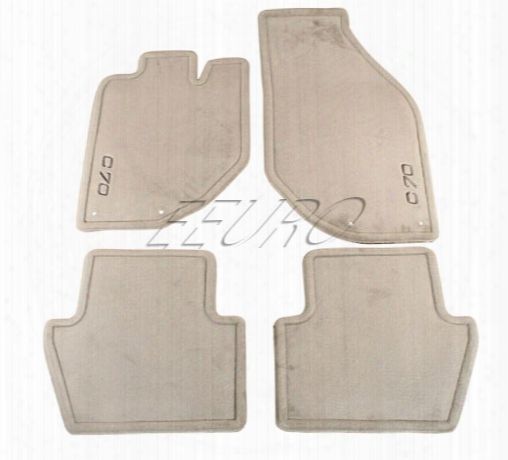 Floor Mat Set (granite) - Genuine Volvo 9184592
