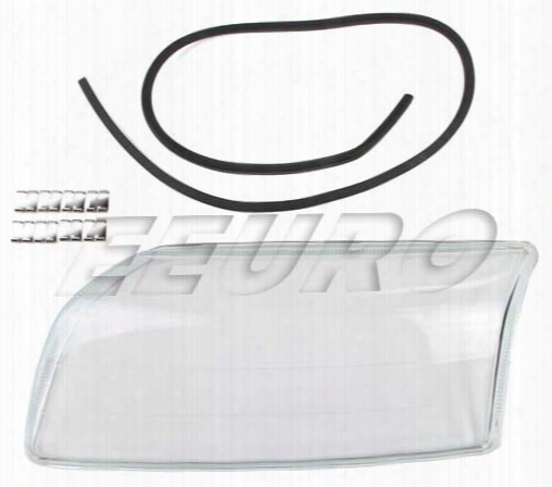 Headlight Lens - Driver Side - Proparts 34430157 Volvo 8662865