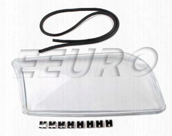 Headlight Lens - Passenger Side (xenon) - Proparts 34430160 Volvo