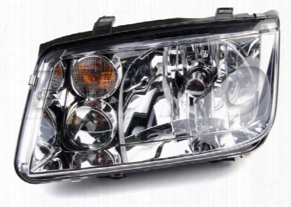 Hella Headlight Assembly - Driver Side (halogen) (w/o Foglight) Vw 1j5941017aj