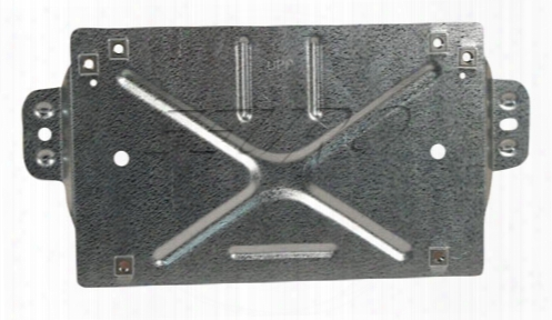 License Plate Mount - Front And Rear - Genuine Saab 12786338