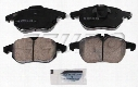 Disc Brake Pad Set - Front (285mm) (302mm) - Akebono EUR972 SAAB 99900004