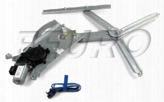 Window Regulator - Front Passenger Side (w/ Motor) (3 Door) Saab 5184924