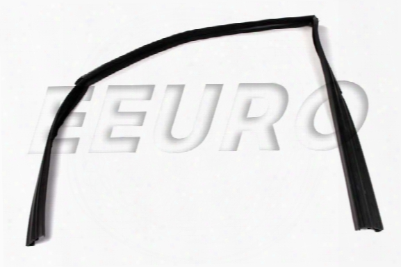 Window Seal - Front Driver Side - Genuine Saab 4322475