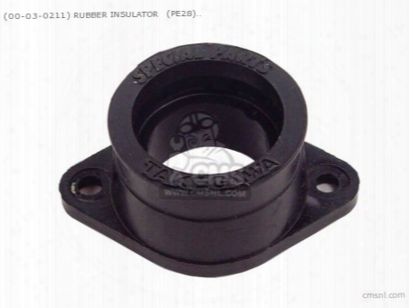 (00-03-0211) Rubber Insulator (pe28) Carburetor Repair Parts