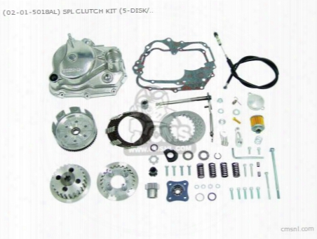(02-01-5018al) Spl Clutch Kit (5-disk/ Barrel /type2) 6v Monkey(